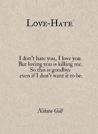 Love Hate Quotes Delectable Love And Hate Quotes Classy Love And Hate Quotes Extraordinary The