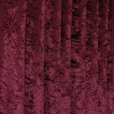 crushed red velvet texture. Bling WINE Crushed Velvet Fabric 145cm Red Texture T