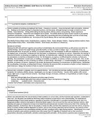 Soap Charting Format Sample Soap Note From Ehr