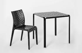 Minimalism Meets Garden Kartell Outdoor Furniture