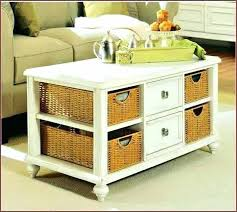 coffee table with baskets coffee tables with storage baskets coffee table storage baskets coffee tables with