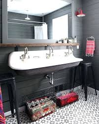 kohler trough sinks bathroom sink double vanity ideas farmhouse kids