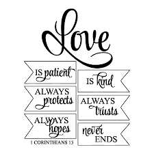 Love Is Patient Love Is Kind Quote Inspiration Love Is Patient Wall Quotes Decal Wallquotes 48 QuotesNew