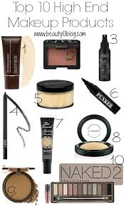 makeup ideas high end makeup brands list top 10 high end makeup s