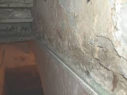 Rising Damp In West Yorkshire Crumbling Plaster Caused By Rising Damp