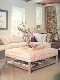 diy ottoman coffee table upholstered coffee table with shelf upholstered storage ottoman diy round ottoman coffee