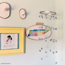 diy disco ball chandelier crafts unleashed 006
