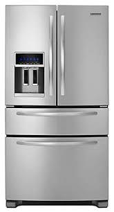 kitchenaid refrigerator french door. ft. standard-depth four door french refrigerator, architect® series ii kitchenaid refrigerator a