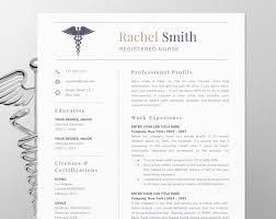 Nursin Resume Nursing Resume Template For Word Nurse Cv Template Rn Resume Medical Cv Doctor Resume Nurse Resume Template Instant Download Er Nurse