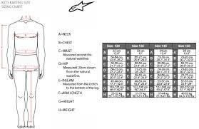 Alpinestars Leather Suit Size Chart Alpinestar Suit Sizing Charts