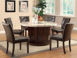 dining room decor ideas round table unique black wood dining chair for modern dark wood round