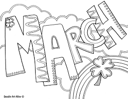 Small Picture Sheets March Coloring Pages 16 For Your Coloring Site with March