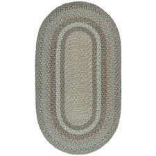 seaspray oval jute braided rug