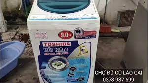 Chợ Đồ Cũ Lào Cai - Máy giặt 9kg