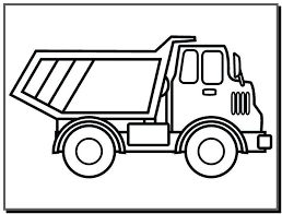 Tuyển tập tranh tô màu xe tải đẹp nhất cho bé - Tranh Tô Màu cho bé