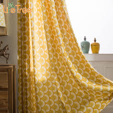 aliexpress com yellow linen curtains for living room custom made window ds from reliable yellow linen curtains suppliers on lifetree official