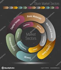 Stock Market Sectors Chart Stock Vector Cteconsulting