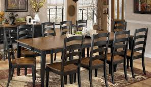 white gumtree puluxy remarkable town woodinville dining chairs wood argos ashley round light and room sets