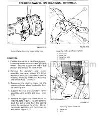 ford new holland 345d 445d 545d repair manual tractor loader preview