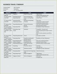Hotel Itinerary Template Arcgerontology Info