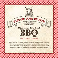 Flyers For Fundraising Events Bbq Fundraiser Flyer Template