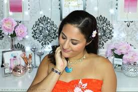 moana vaiana disney princess makeup tutorial