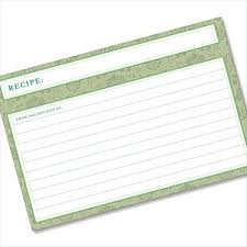Largest Selection Of Recipe Cards Sleeves Dividers Online