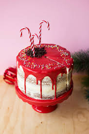 White Chocolate Peppermint Holiday Cake GIVEAWAY