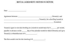 Simple Rental Agreement Template Basic Rental Agreement In A Word Document For Free
