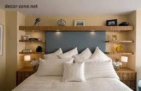 Fresh Bedroom Shelving Stunning Ideas Wall Shelves Decorating Design Bed