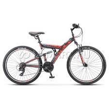 """<b>Велосипед Stels Focus V</b> 26"""" 18-sp V030 (2018), рама 18, черный ..."""