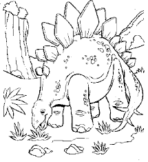 Small Picture Plant Eating Dinosaur Coloring Pages Dinosaurs Preschool