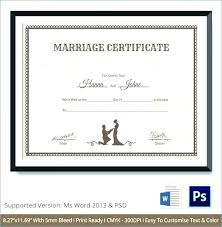 fake marriage certificate online free business license template