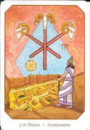 The Tarot Of Eli The Babylonian Tarot 3 Of Wands