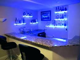 bar wall shelves for liquor led lighted another glass lig