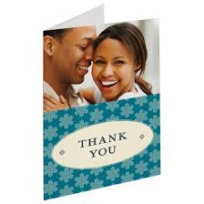 snowflake thank you cards snowflakes thank you cards folded cards personalized cards photo