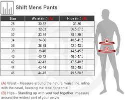 Shift Size Chart Shift Whit3 Label Tarmac Pants 2017 Riding Gear Rocky
