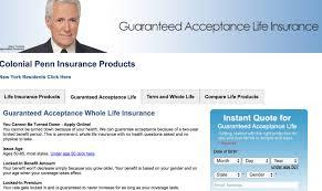 colonial penn life insurance guaranteed