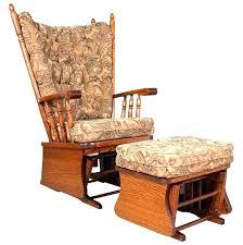 wooden rocker cushions wood rocking chair canada