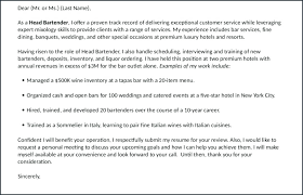 Bartenders Job Description For A Resume Bartender Job Description