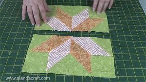 Quilting Blocks: Starflower Quilt Block - Alanda Craft & Starflower Quilt Block Tutorial Adamdwight.com