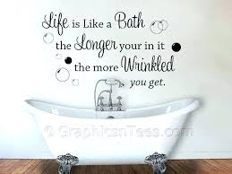 how to remove wall decal sayings bathtub decals bathtub wrinkled bathroom wall art decals motivational sayings about life themed house decorative useful