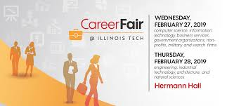 Plan To Attend The Spring 2019 Industry Career Fair