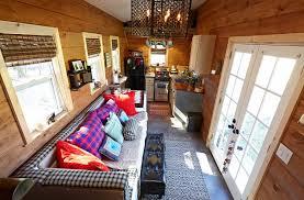 gooseneck tiny house. Weav Livingroom2.JPG Gooseneck Tiny House M
