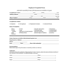 Employee Grievance Form Sample Employee Grievance Forms 7 Free Documents In Word Pdf