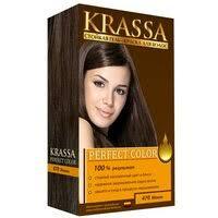 Krassa Perfect Color <b>Стойкая гель</b>-<b>краска для волос</b> №470 (мокко)