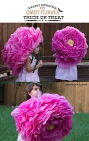 Paper Flower Hats Halloween Costume Flower Crepe Giant Piata Paper Rose