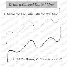 Old photoshop hands will be rolling their eyes at me i'm you can also add them, just select add anchor point tool instead of delete and click where you want to add it within the line. Create A Dotted Line In Photoshop Photoshop Photoshop Tutorial Dotted Line