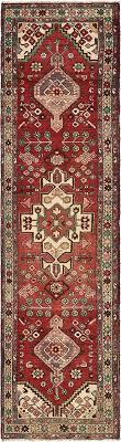 main 3 4 x 12 8 khamseh persian runner rug photo