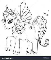 unicorn coloring page pages free new